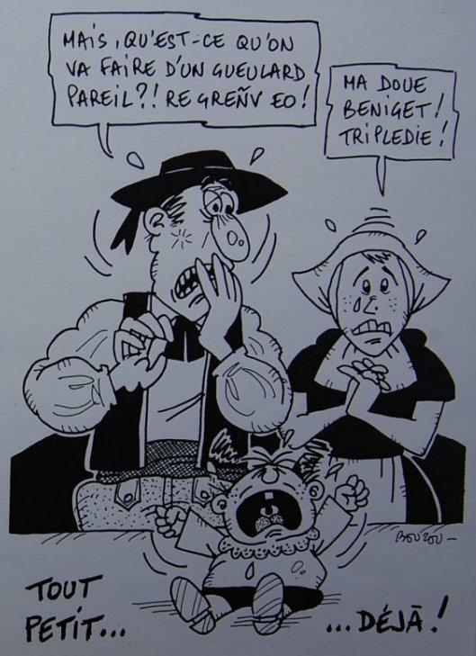 Dessin : Départ en retraite d'un breton, 01… « Bouzou's Weblog