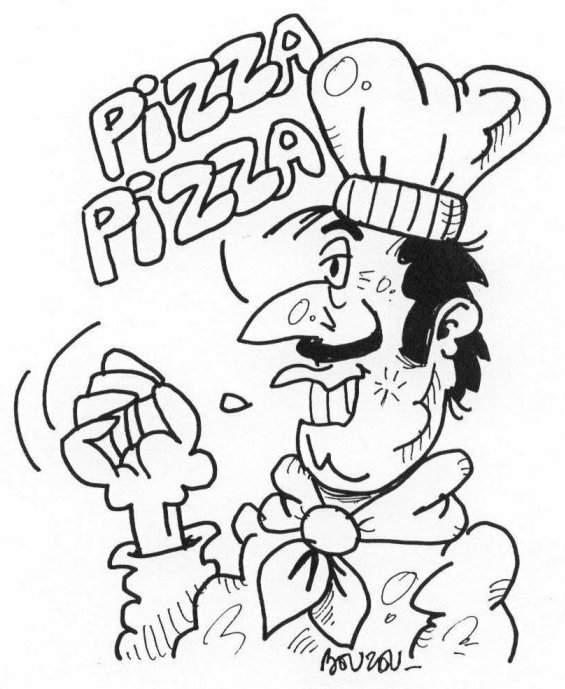 Dessin pizzaiolo bouzou 39 s weblog for Emploi pizzaiolo