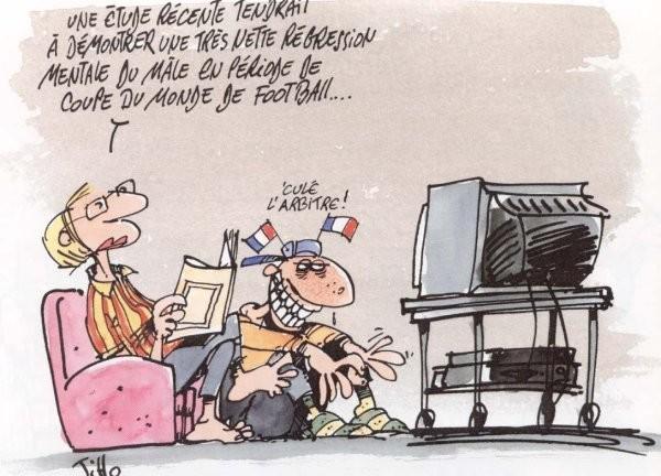 Humour le temps du foot bouzou 39 s weblog - Quitte moi pendant la coupe du monde ...