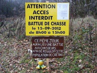 Battue chasse