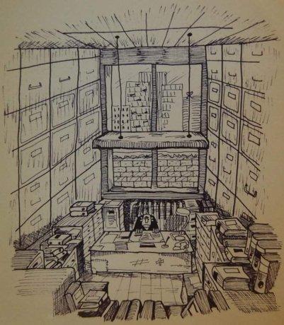 dessin mon premier bureau bouzou 39 s weblog. Black Bedroom Furniture Sets. Home Design Ideas