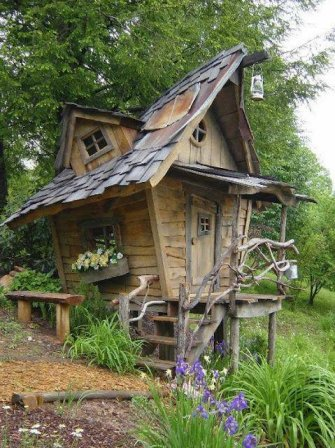 Fantasy Garden Shed -  Different Solutions