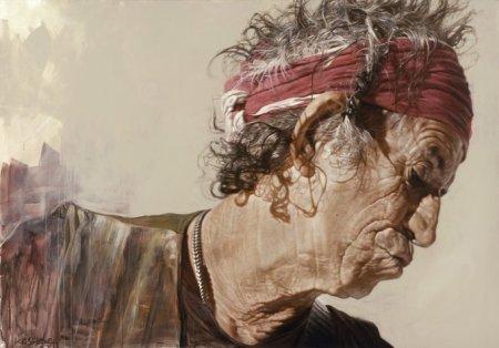Keith Richards par Sebastian Krüger