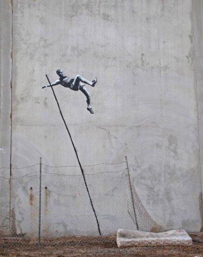 Banksy - JO London 2012 -  Street art