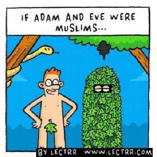Si Adam et Eve avaient été musulmans