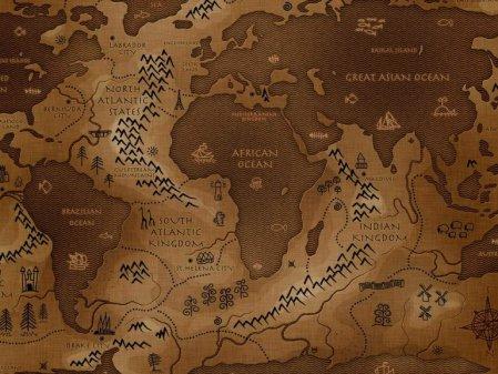 La carte du monde inversée – Un nouveau monde