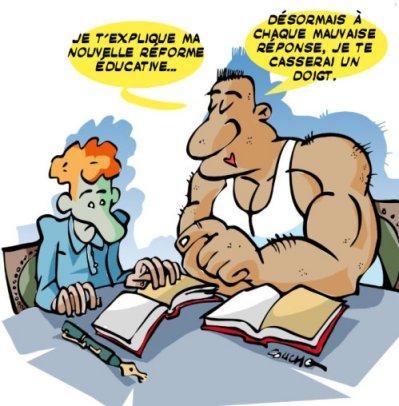 Réforme éducation