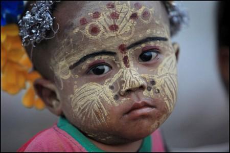 Enfant de l' Inde du Nord