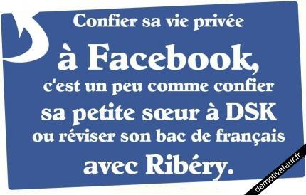 Vie privée sur Facebook