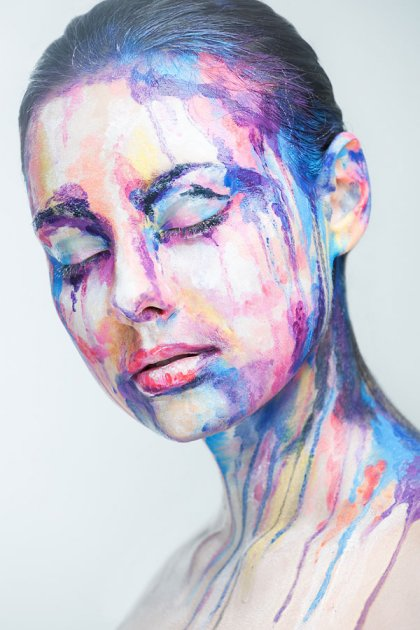 Peintures faciales de Valeriya Kutsan 05