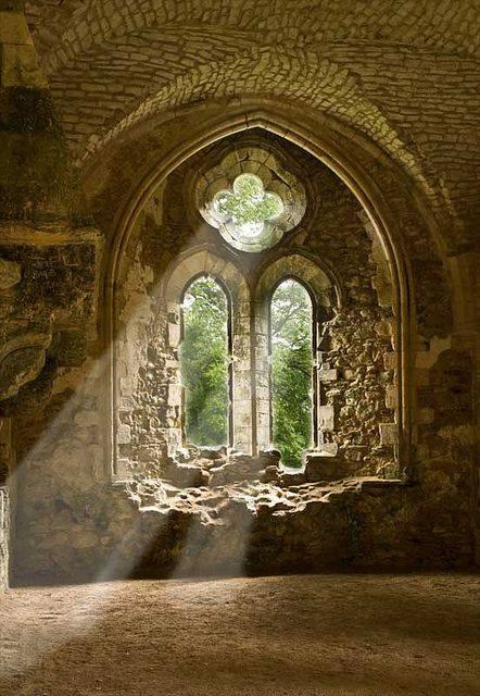 Netley Abbey by Keith Holdaway