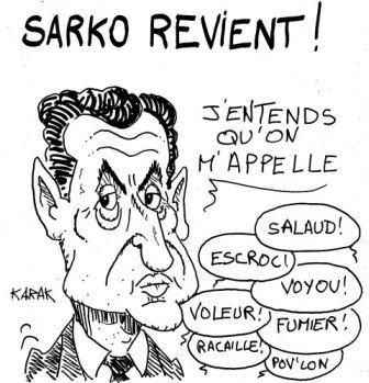 Sarko revient