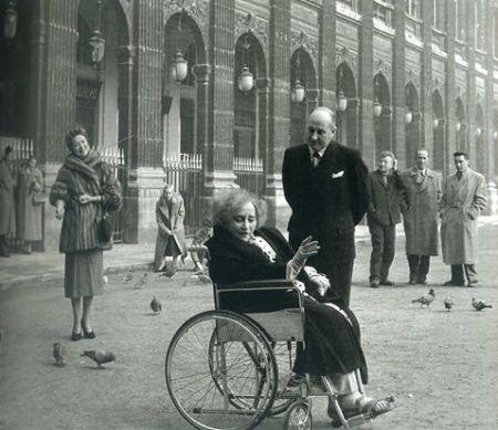Colette en 1953 by Robert Doisneau