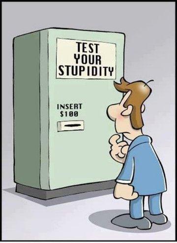 Test de stupidité